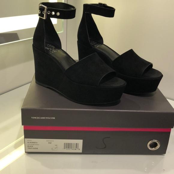 af0e07dc931 Vince Camuto Korista platform wedge sandal